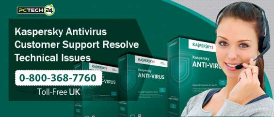 Call us immediately at 0-800-368-7760 for tremendous kaspersky support