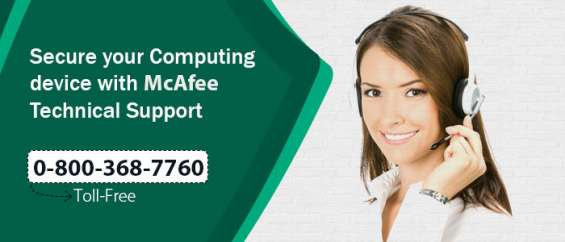 Have a genuine mcafee technical support @ 08003687760