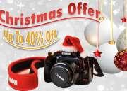 Christmas Offers - Save Money Upto 40% on Digital Cameras