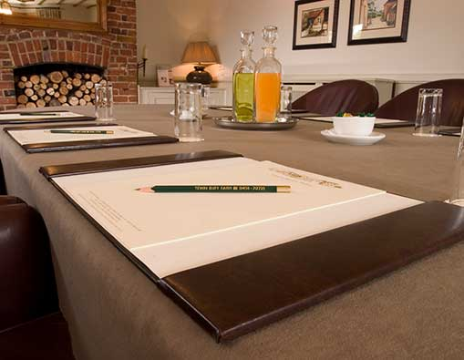 Plan conferences and meetings away from a noisy environment