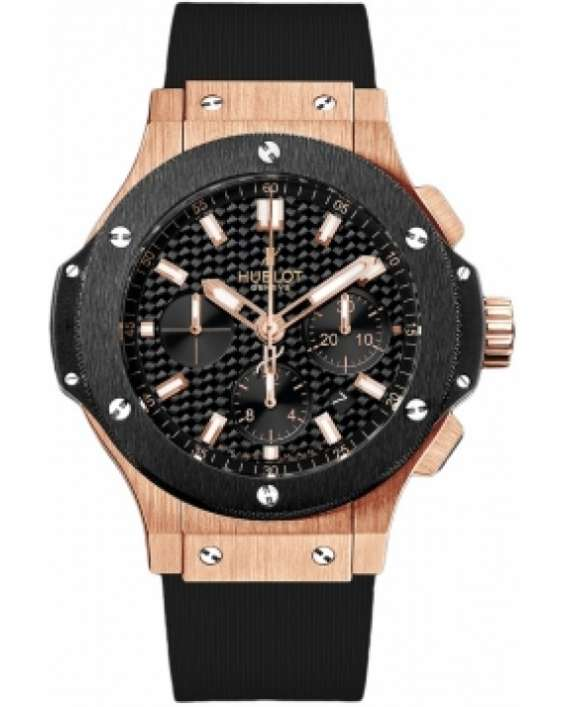 Hublot big bang gold 44mm black t