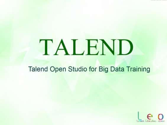 Online talend training in hyderabad