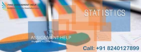 Statistics assignment help at find assignment
