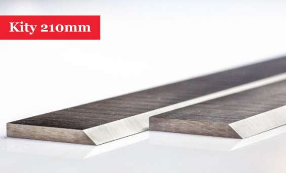 Kity planer blades knives 210mm long - 1 pair buy online