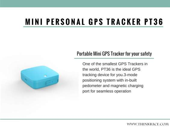 Mini personal gps trackerpt36– multipurpose advance features packed in a small space