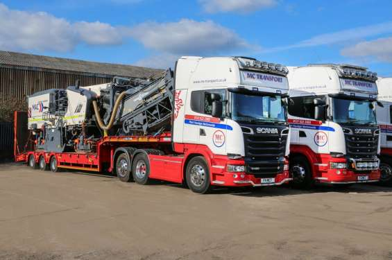 Top plant haulage in uk
