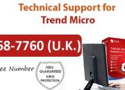 Trend micro support – 0-800-368-7760 for best solutions