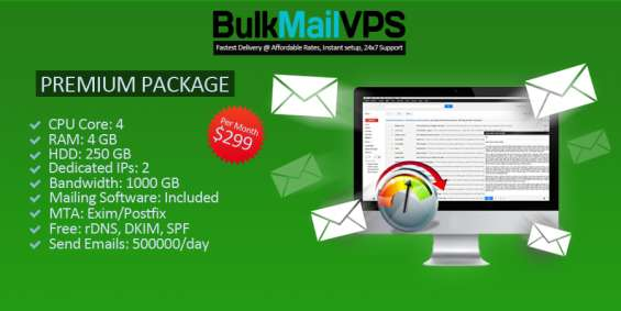 Fully managed email marketing full delivery & unsubscribe reports.
