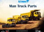 High Strength and Reasonably Priced Man Spare Parts from BP Auto Spares India