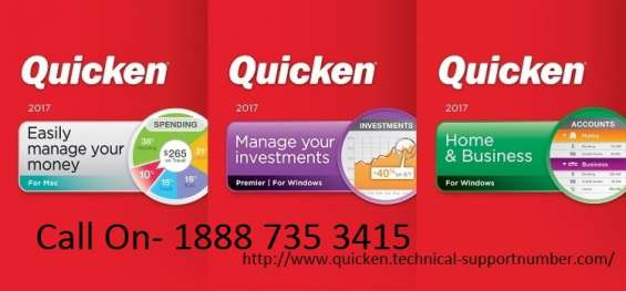 Quicken technical support number 1888 735 3415