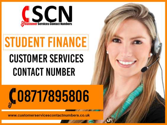 Student finance contact number: 08717895806