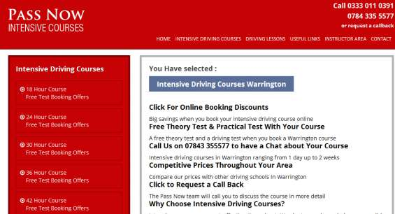 To get affordable driving lessons in warrington, call today! 0333 011 0391