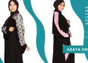 Lace sleeve abaya online