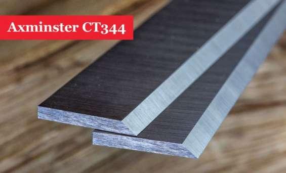 Axminster ct344 planer blades knives - 1 pair online @ woodfordtooling