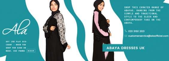 Rainbow sleeve abaya