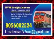 NVM freight Movers 8056002524  No. 1 in Chennai Freight Movers | Rs. 7 per KG