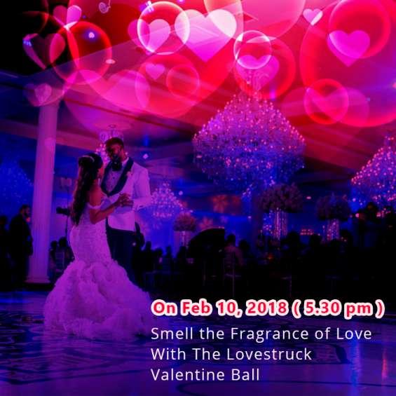 Join pre-valentine celebration with the lovestruck valentine ball