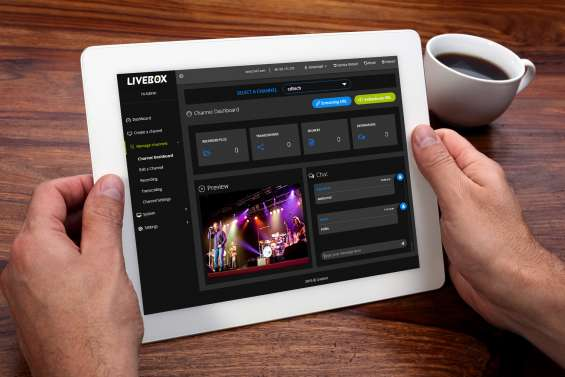 Use your existing server hardware with livebox streaming server