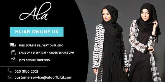Chiffon hijab khaki one size