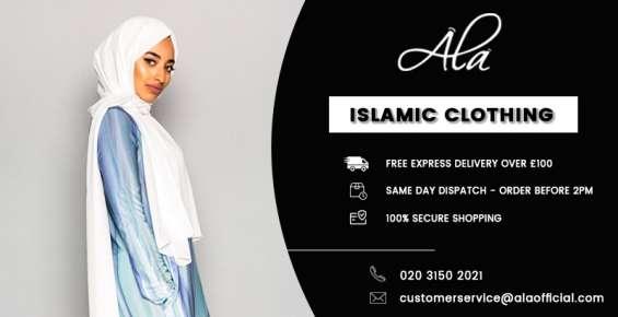Chiffon hijab plum one size