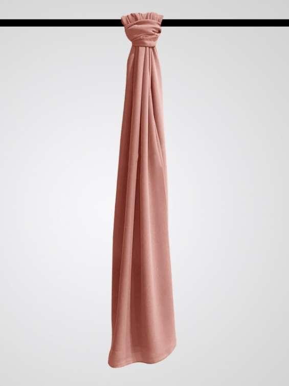 Buy chiffon hijab salmon pink one size