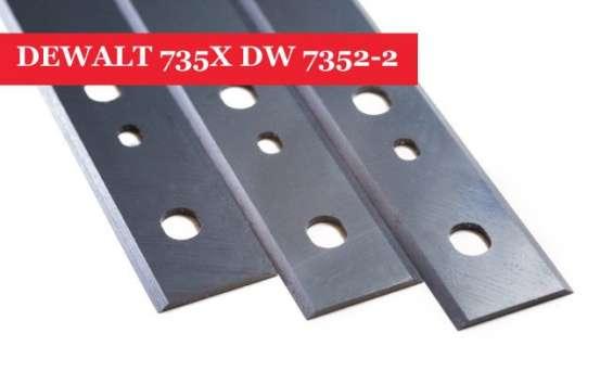 Dewalt 735x dw 7352-2 planer blades knives - set of 3 online cheap cost
