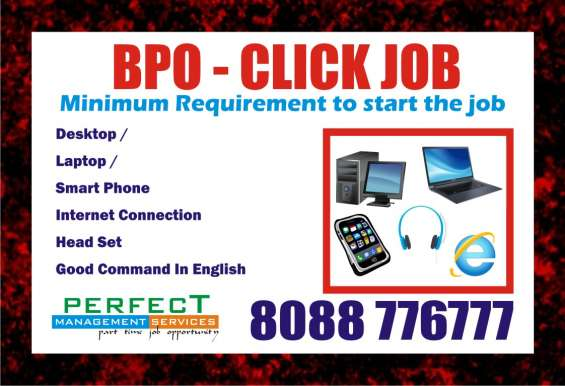 Earn money from home bpo jobs | earn daily 12$ | weekly payout | 8088776777 bangalore