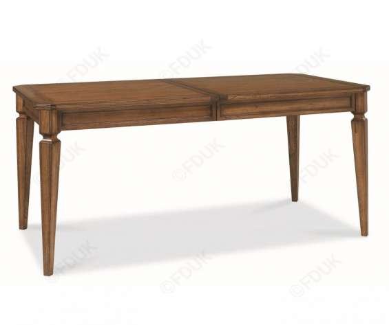 Bentley designs sophia oak 6-8 extension dining table