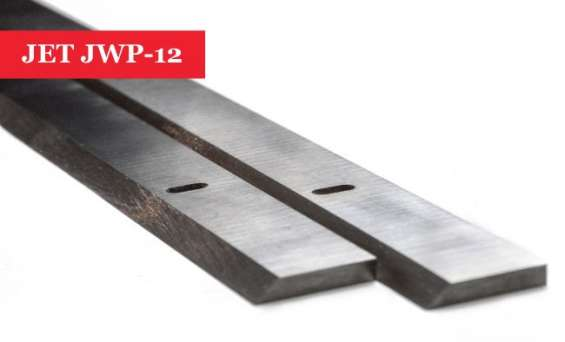 Jet jwp-12 planer/jointer blades knives - 1 pair online @ uk