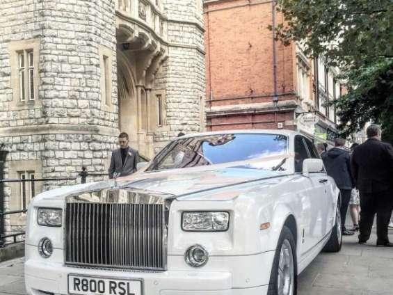 Rolls royce phantom hire in london