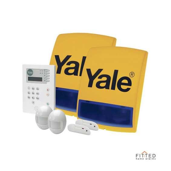 Yale 6400 premium / home connect telecommunicating burglar alarm
