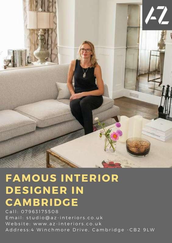 Famous interior designer in cambridge