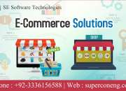 Web design and development, ecommerce solution