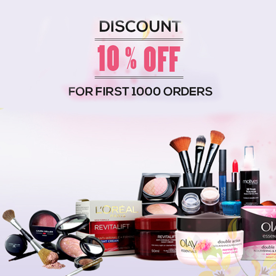 Ladies! grab your deals on beauty products range from discounted cosmetics uk