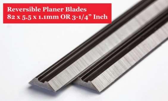 Online 82mm planer blades-hss 82mm planer blades - 2 pairs / 4 pieces