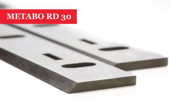 Metabo rd 30 planer blades knives resharpenable - 1 pair