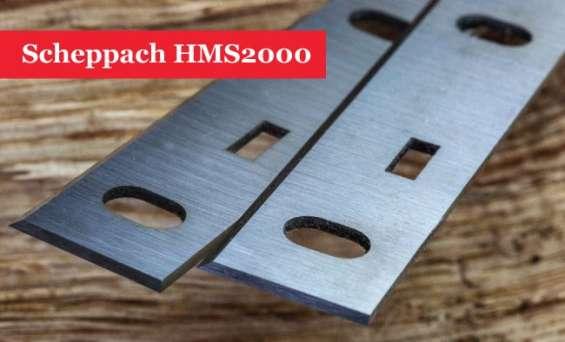 Scheppach ht 850 planer blade knives 210mm - 1 pair online