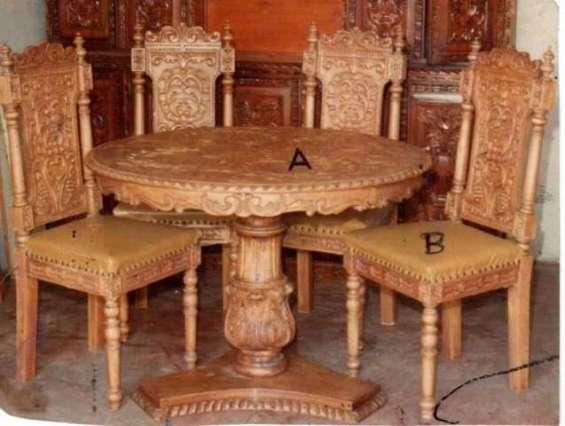 Muebles coloniales peruanos arte y estilo colonial mi