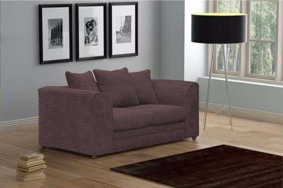 Logan 2 seater sofa jumbo cord fabric (2)