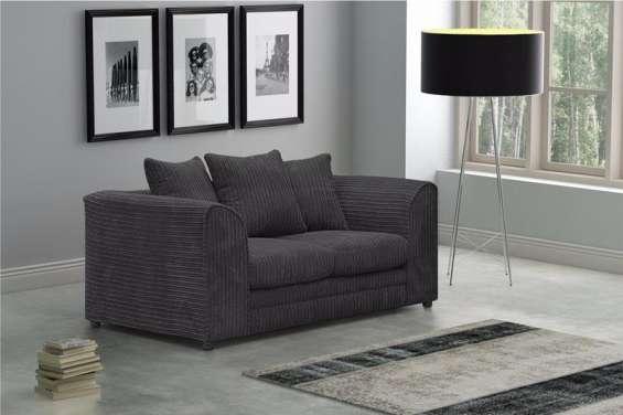 Logan 2 seater sofa jumbo cord fabric