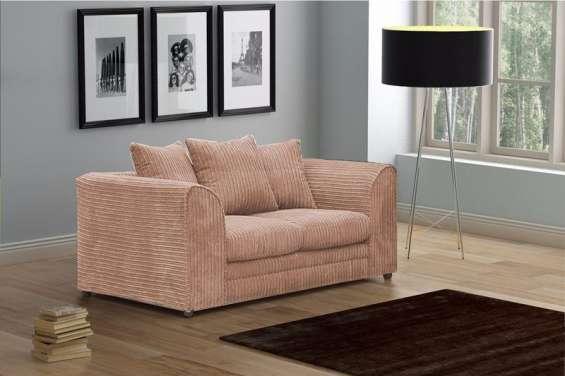 Logan 2 seater sofa jumbo cord fabric (3)