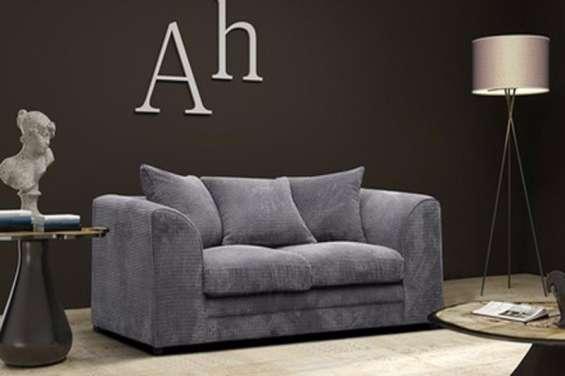Logan 2 seater sofa jumbo cord fabric (1)