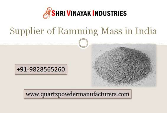 Supplier and manufacturer of ramming mass in india