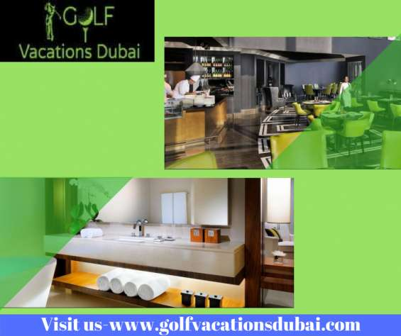 Book affordable & best golf family hotel -golfing holidays in uae