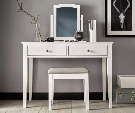 Bentley designs ashby white dressing table