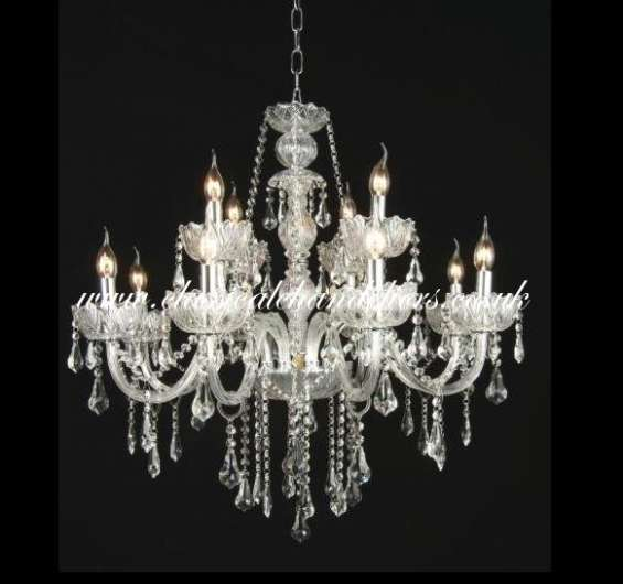 Crystal kc 65306-8+4 chrome ceiling light for sale!