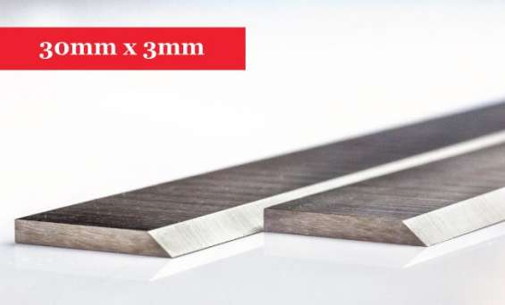 Planer knives 30mm x 3mm-080mm long x 30mm high x 3mm thick