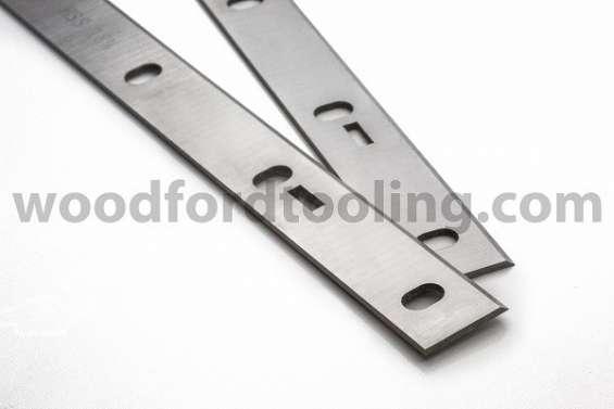 Woodstar pt106 hss planer blades knives 260mm slotted for woodstar planing machine