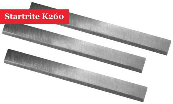 Startrite k260 planner blade knives set of 3 inc vat online