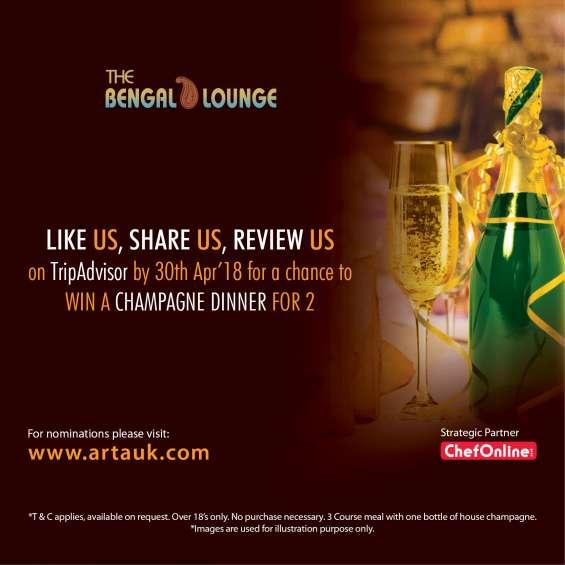 Asian restaurant & takeaway awards | the bengal lounge